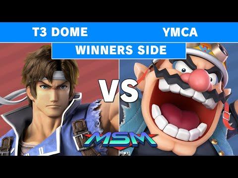 MSM 216 - CG | T3 Dome (Richter) Vs YMCA (Wario) Winners Pools - Smash Ultimate