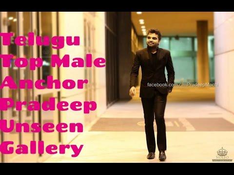 Telugu Anchor Pradeep Unseen Gallery