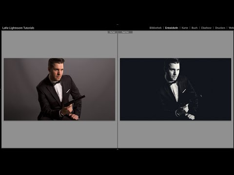 LaKe Lightroom Tutorials - James Bond - Filmlook