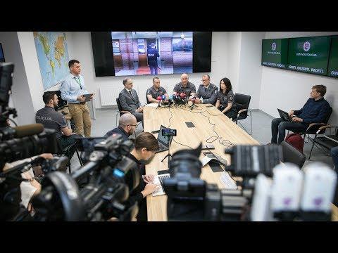 Tiesiogiai: Lietuvos policija pristato vieną iš stambiausių pastarojo meto tarptautinių operacijų