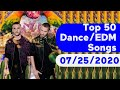 US Top 50 Dance/Electronic/EDM Songs (July 25, 2020)