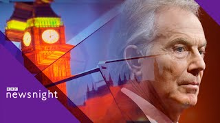 Tony Blair: 'This government is in a state of dysfunction' - BBC Newsnight