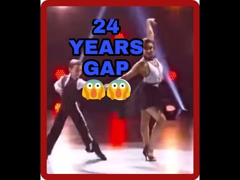 President of France dancing with his current wife with age gap of 24 years