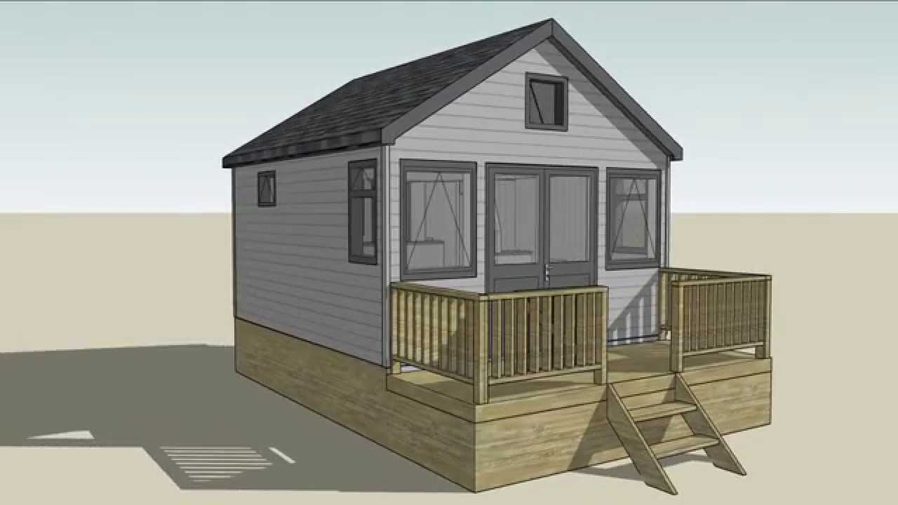 3d animation of mudeford beach hut design youtube for Beach hut designs