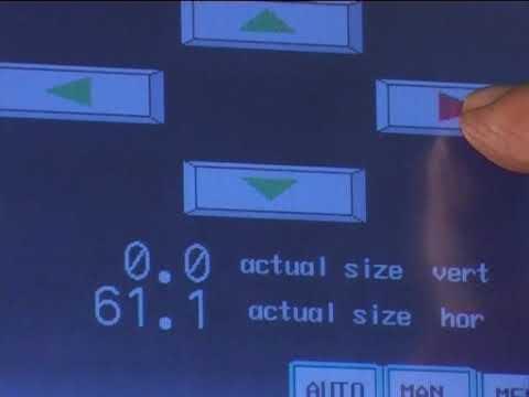 Mod. Automático DSXE-Pantalla Táctil, Touch Screen