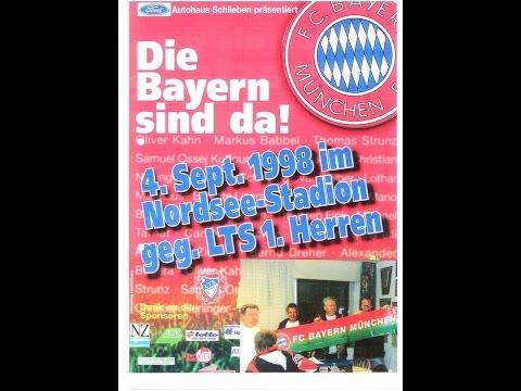 LTS - FC Bayern München (0:17) im Nordseestadion Bremerhaven 04.09.1998