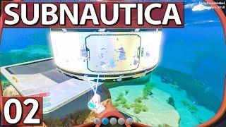 Subnautica #2 BASIS – nicht – BAU Der Tauch Simulator ► Ang►spielt