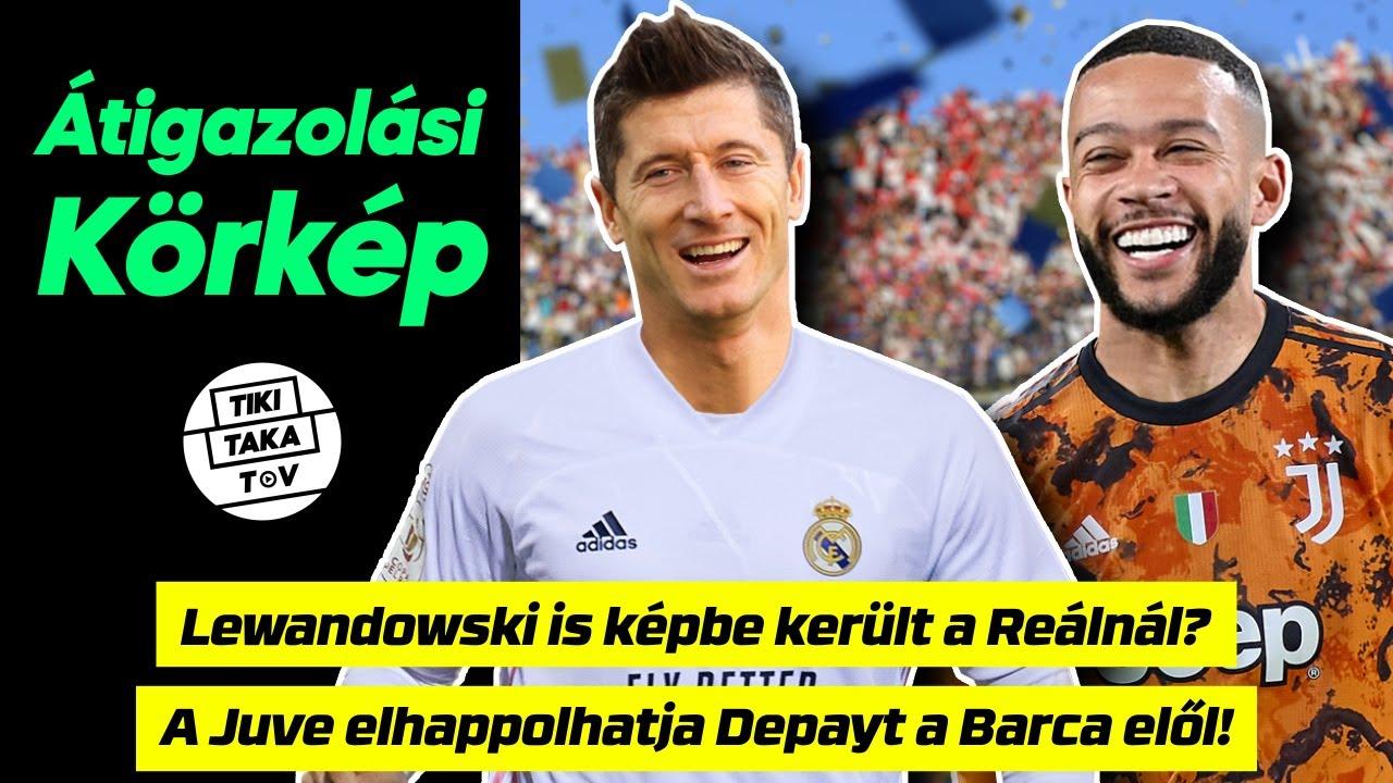 Lewandowski is képbe került a Real Madridnál! Wijnaldum után Depayt is bukhatja a Barcelona??