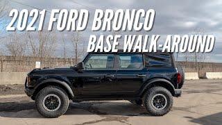 2021 Ford Bronco Base Sasquatch Walk-Around | Bronco Nation