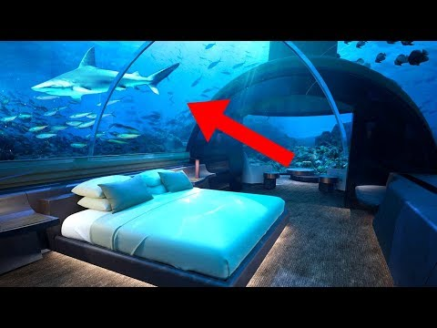 Most Amazing UNDERWATER Buildings In The World!