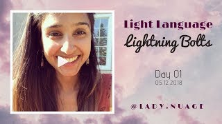 Light Language - Lady Nuage - Lightning Bolt #1