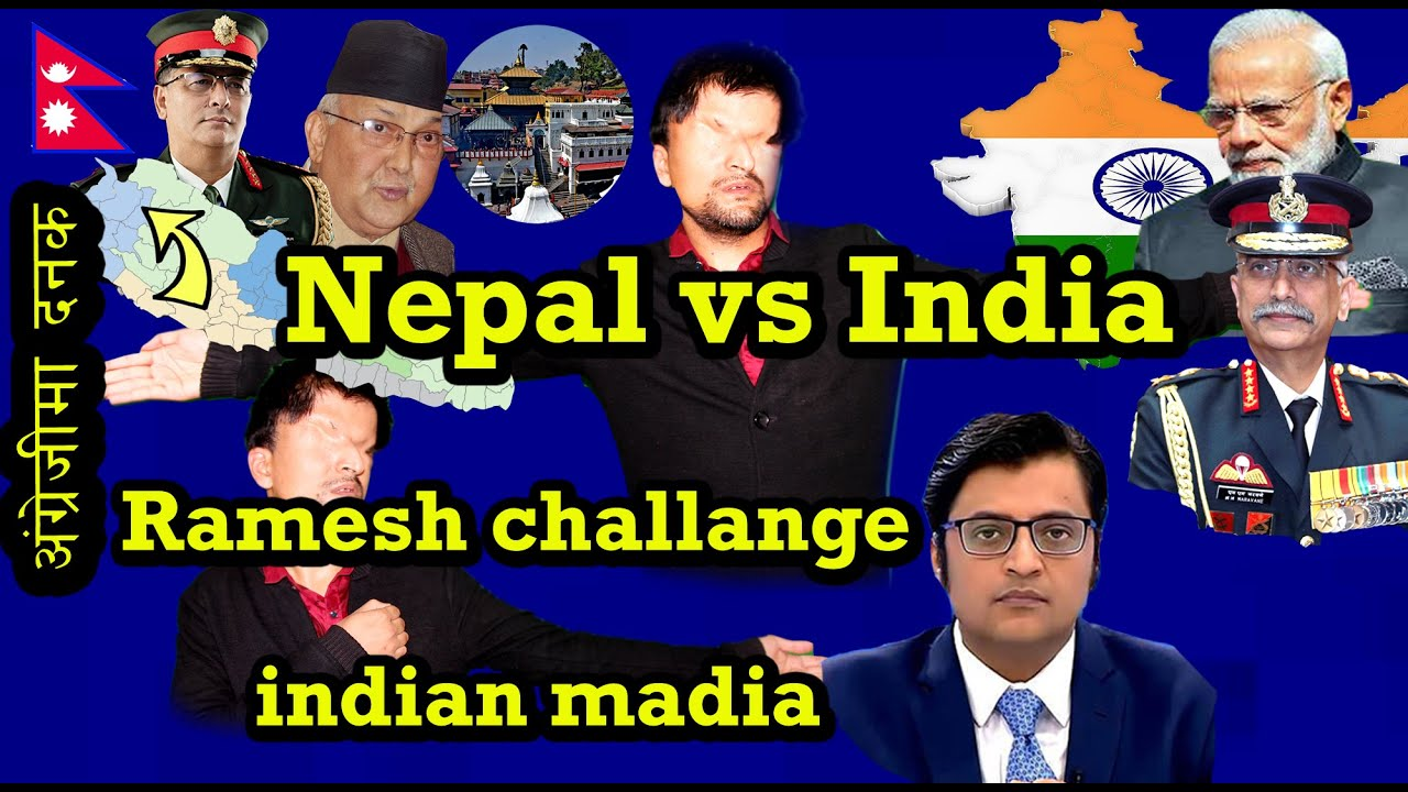 Download Ramesh prasai challenge indian media  about kalapani ,go back india