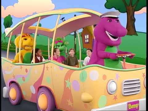 Barney's Adventure Bus Trailer