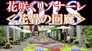 花咲くリゾナーレ2018「花畳の回廊」※星野リゾート(リゾナーレ八ヶ岳)