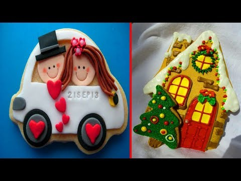 Best Cookies Art Decorating Compilation 2018 | Most Satisfying Cake Decorating Videos