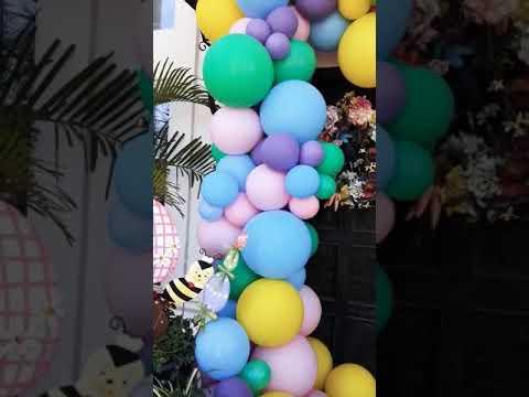 Easter Birthday Pastel Colors🎈 Gardland Door Decor..