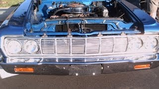1964 Plymouth Fury Convertible Blu 101312