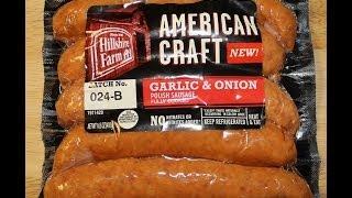 Hillshire Farm: American Craft Garlic & Onion Food Review