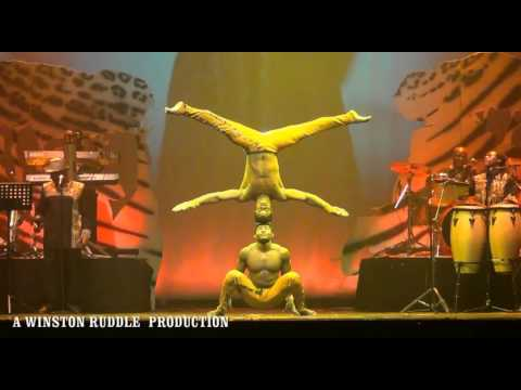 AFRICAN ACROBATS THE RAMADHANI BROTHERS HAND TO HAND ACT
