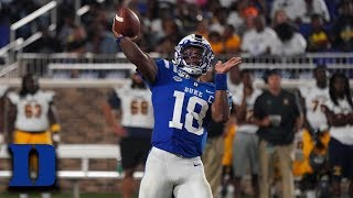 Duke's Quentin Harris Has Huge Game Against North Carolina A&T