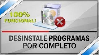 Como desinstalar um programa completamente no Windows 8, 8.1 e 10!