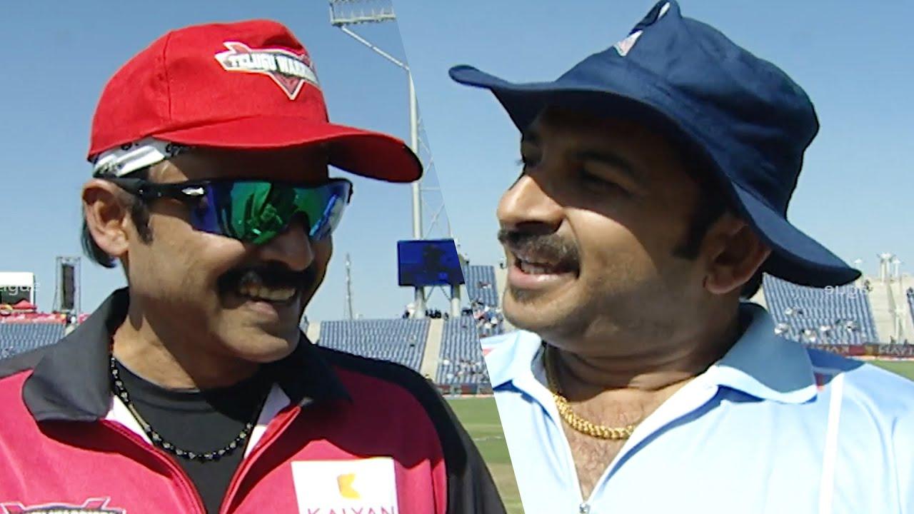 Venkatesh Shows His Confidence To Beat Manoj Tiwari's Team   #TeluguWarriors Vs #BhojpuriDabanggs