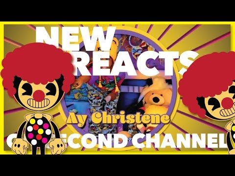 NEW BENDY REACT VIDEO ON SECOND CHANNEL **Click the link**