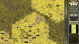 Panzer Corps: Allied Corps Gameplay Review