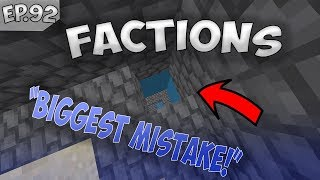 THEY MADE THE BIGGEST MISTAKE IN FACTIONS! SaicoPvP Factions Episode #92