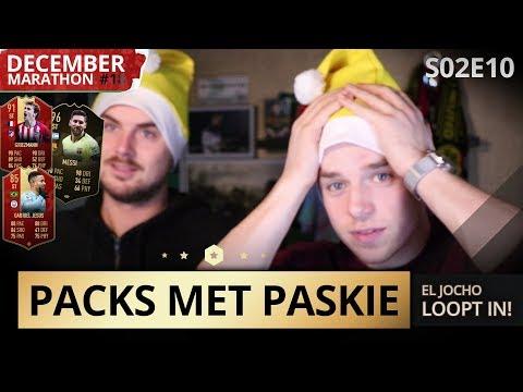 EL JOCHO LOOPT IN + HEERLIJKE PLAYER PICK!! | PACKS MET PASKIE S02E11 | DecemberMarathon#18