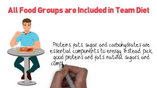 Healthy Eating Tip 4: All Food Groups are Included in Team Diet