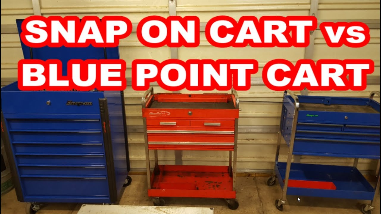 Blue Point Tool Cart >> Snap On Vs Blue Point Tool Roll Carts Krsc326 Review Mods Youtube