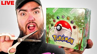 Opening Two VINTAGE Jungle Pokémon Boxes LIVE! *WORTH £10,000*