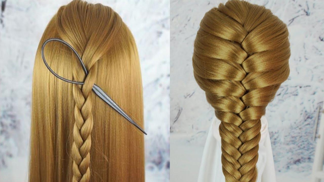 Cách Tết Tóc Đẹp Đơn Giản Nhất 2019 – Tết Tóc Đẹp Đi Học   Beautiful Hairstyles For School