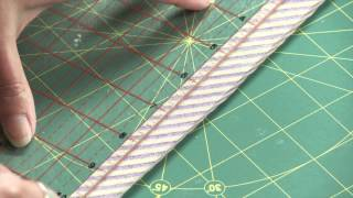 Making Easy Bias Tape with Sarah Fielke, Quilting Instructor for Craftsy.com