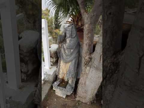 This historical statue of great BUdda  is broken by capital political agent  in1978 at malakand