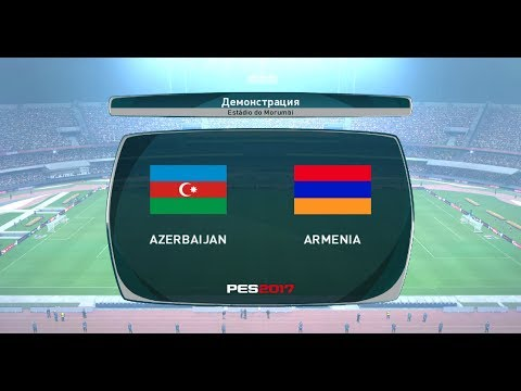 PES 2017 | Azerbaijan vs Armenia | Full Match Gameplay | HD 1080p