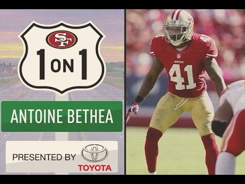 49ers Safety Antoine Bethea Talks with 49ers Studios