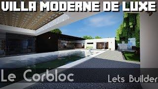 Minecraft - Villa moderne de luxe