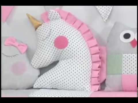 Patrones Para Hacer Cojines.Como Hacer Un Cojin De Unicornio 4 5