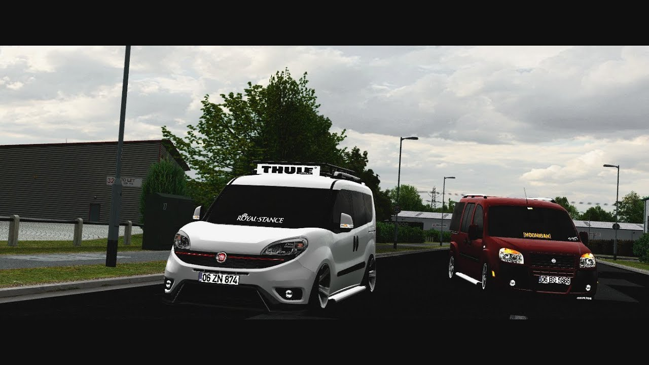 lfs-yeni fiat doblo 2016 trailer - youtube