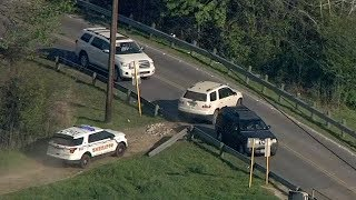 Highlights: High Speed Police Chase Goes Off Road in Houston!