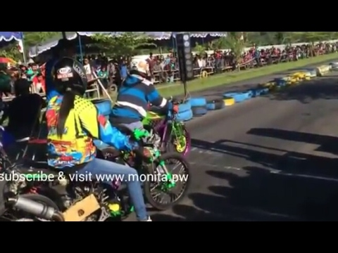 Aksi Raya Kitty | Drag Matic 200cc