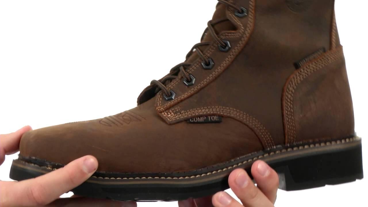 Justin WK462-Waterproof Composite Toe