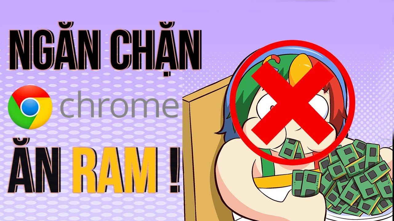 Google Chrome Ngốn RAM máy của bạn? Xưa rồi | Tắt tính năng chạy ngầm giải phóng RAM cho máy Surface