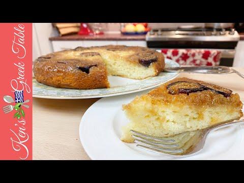 fig-&-honey-yogurt-cake-|-greek-dessert-recipe