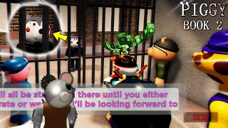 ROBLOX PIGGY: BOOK 2 WILLOW TRAPS US IN A CELL CHAPTER 4 SAFE PLACE!!