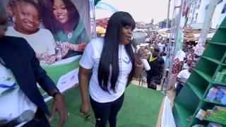 Funke Akindele Bello Visits Ojuwoye Market