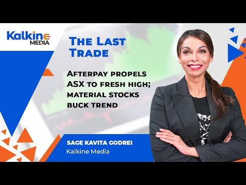 Afterpay Propels ASX To Fresh High; Material Stocks Buck Trend