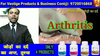 Arthritis. Gathiya. Jodon ka Dard. Use Vestige Product